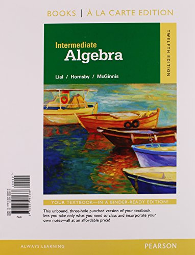 intermediate algebra 12th edition pdf