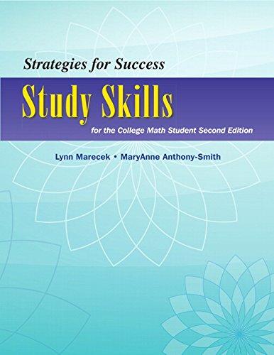 Strategies for Success: Marecek, Lynn;anthony-Smith, Maryanne