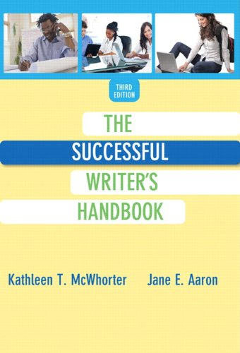 9780321972613: The Successful Writer's Handbook (3rd Edition)