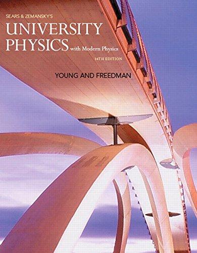 9780321973610: University Physics with Modern Physics