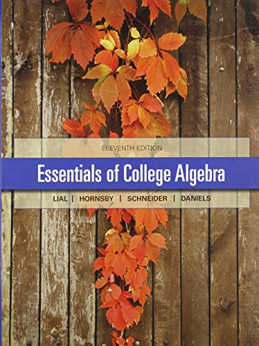 9780321974594: Essentials of College Algebra with Integrated Review plus MML student access card and sticker
