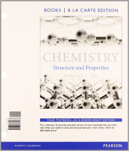 9780321974617: Chemistry: Structures and Properties, Books a la Carte Plus MasteringChemistry with eText -- Access Card Package