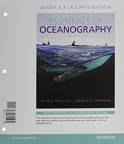 9780321976031: Essentials of Oceanography, Books a la Carte Edition & Modified MasteringOceanography with Pearson eText -- ValuePack Access Card Package