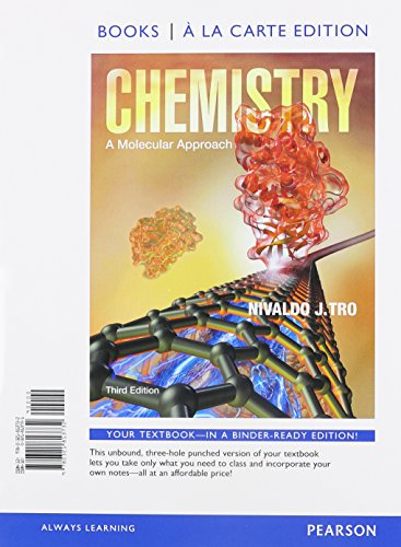 9780321976222: Chemistry: A Molecular Approach, Books a la Carte Edition & Modified MasteringChemistry with Pearson eText -- ValuePack Access Card Package