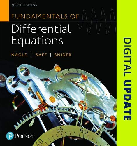 9780321977069: Fundamentals of Differential Equations (9th Edition)