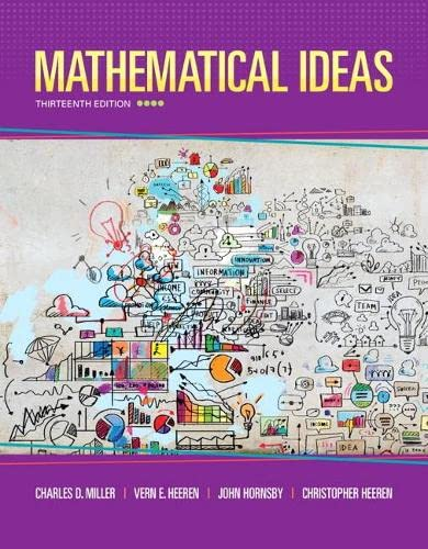 9780321977076: Mathematical Ideas (13th Edition) - Standalone book