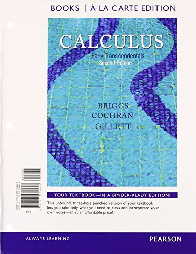 9780321977298: Calculus: Early Transcendentals, Books a la Carte Plus MyMathLab/MyStatLab Student Access Kit (2nd Edition)