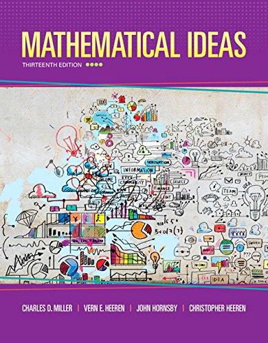 9780321978264: Mathematical Ideas plus MyMathLab -- Access Card Package (13th Edition)
