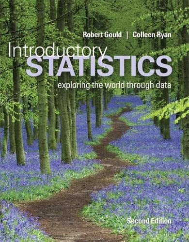 Introductory Statistics (2nd Edition): Gould, Robert N.;