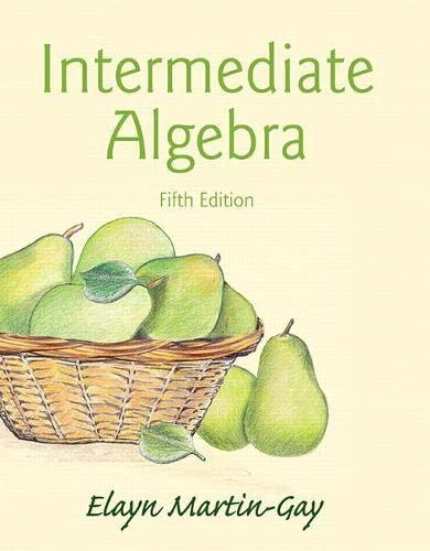 9780321978592: Intermediate Algebra (5th Edition)