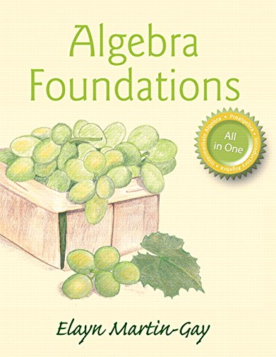 9780321978653: Algebra Foundations: Prealgebra, Introductory Algebra, & Intermediate Algebra