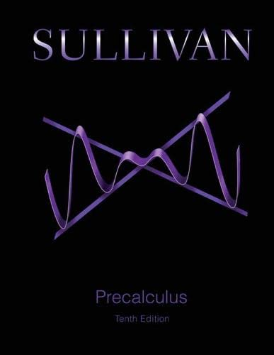 9780321978981: Precalculus Plus MyMathLab with eText -- Access Card Package (10th Edition) (Sullivan & Sullivan Precalculus Titles)