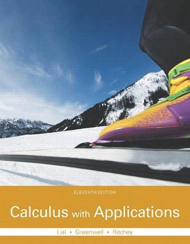 9780321979421: Calculus with Applications (11th Edition)