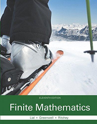 9780321979438: Finite Mathematics (11th Edition)