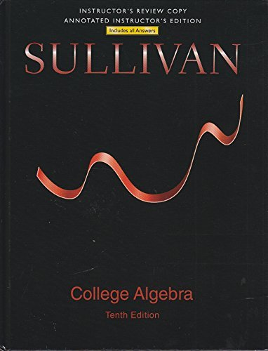 9780321979568: College Algebra (Instructor Edition)