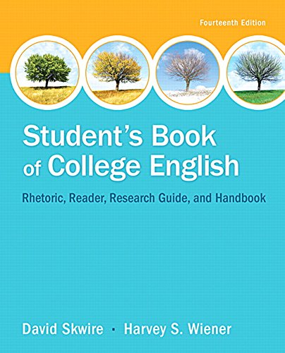 9780321979636: Student's Book of College English (14th Edition)