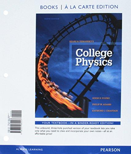 9780321980007: COLLEGE PHYSICS (LOOSELEAF)