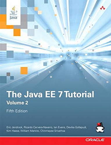 9780321980083: The Java EE 7 Tutorial: Volume 2