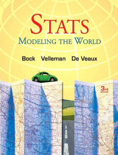 9780321980557: STATS: Modeling the World Plus New Mystatlab with Pearson Etext -- Access Card Package