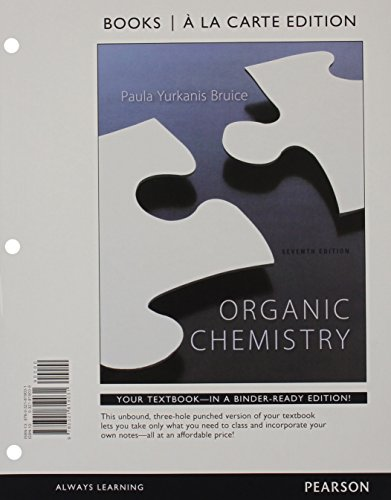 9780321981264: Organic Chemistry, Books a la Carte Edition & Study Guide and Student Solutions Manual for Organic Chemistry & Modified MasteringChemistry with Pearson eText -- ValuePack Access Card Package