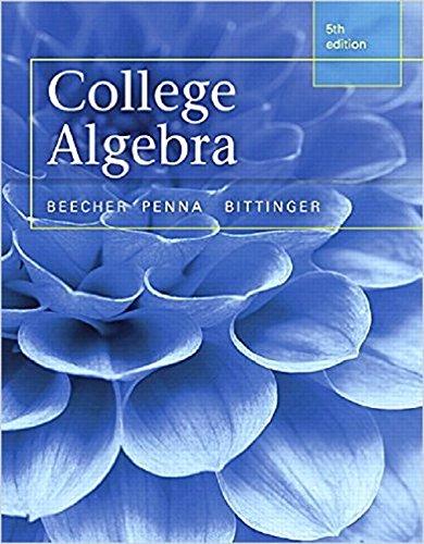 9780321981752: College Algebra, Books a la Carte Edition (5th Edition)