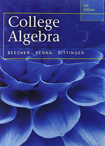 9780321981868: College Algebra with Integrated Review plus MML Student Access Card and Sticker (5th Edition)