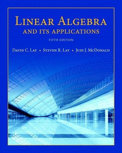 9780321982384: Linear Algebra and Its Applications (5th Edition)