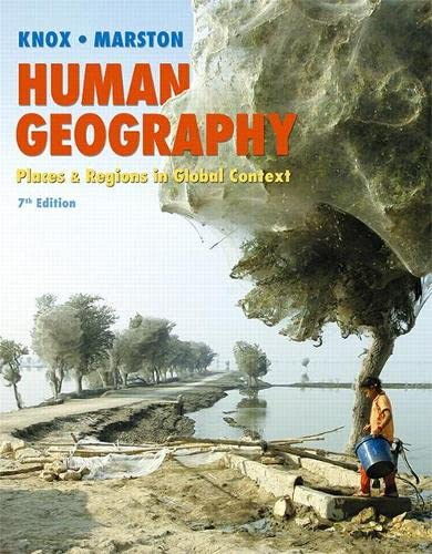 9780321984234: Human Geography: Places and Regions in Global Context Plus MasteringGeography with eText -- Access Card Package (7th Edition)