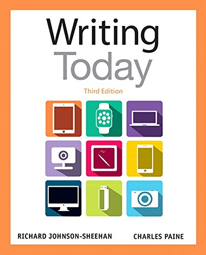 9780321984654: Writing Today (3rd Edition)