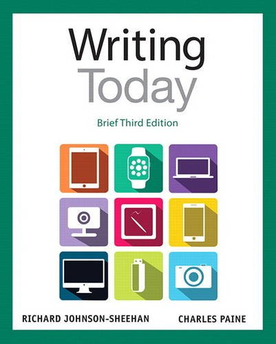 9780321984746: Writing Today, Brief Edition (3rd Edition)
