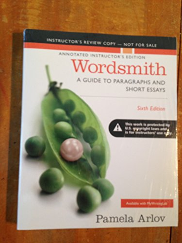 9780321985422: A.I.E WORDSMITH; A GUIDE TO PARAGRAPHS AND SHORT ESSAYS 6TH.ED.