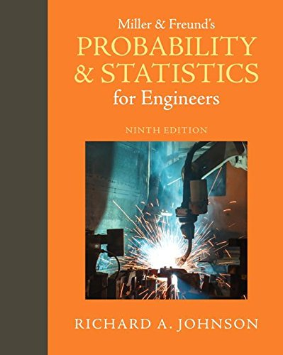 9780321986245: Miller & Freund's Probability and Statistics for Engineers (9th Edition)