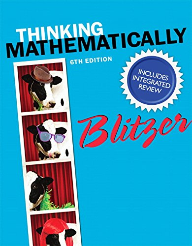 9780321986344: Thinking Mathematically with Integrated Review and Learning Guide plus NEW MyMathLab with Pearson eText -- Access Card Package (2nd Edition) (Integrated Review Courses in MyMathLab and MyStatLab)