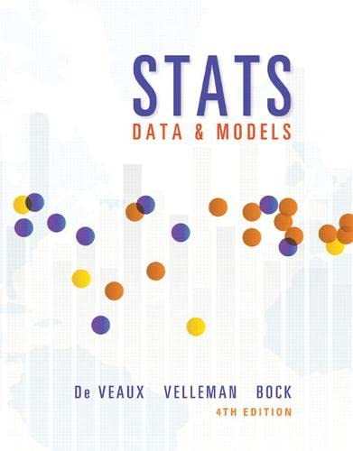9780321986498: STATS: Data and Models