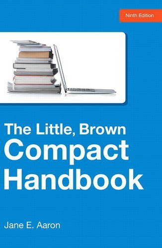 9780321986504: The Little, Brown Compact Handbook (9th Edition)