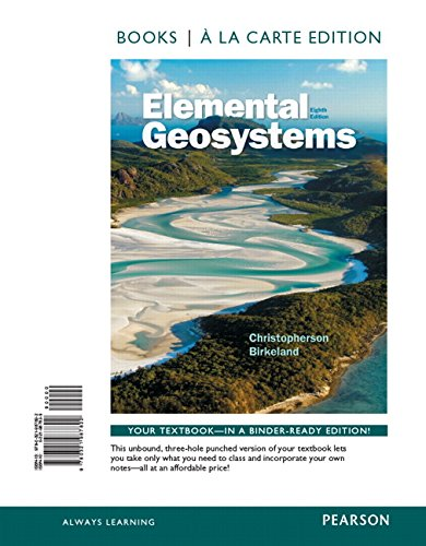 9780321987822: Elemental Geosystems, Books a la Carte Edition (8th Edition)
