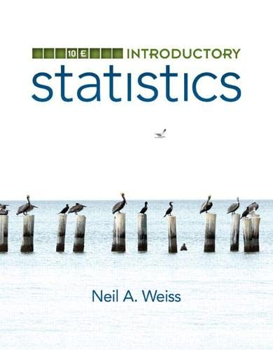 9780321989178: Introductory Statistics (10th Edition)