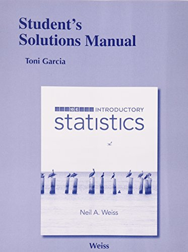 9780321989284: Student Solutions Manual for Introductory Statistics