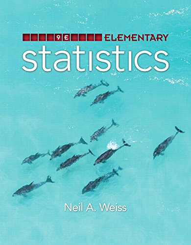 Elementary Statistics Plus MyStatLab with Pearson eText -- Access Card Package (9th Edition): Weiss...