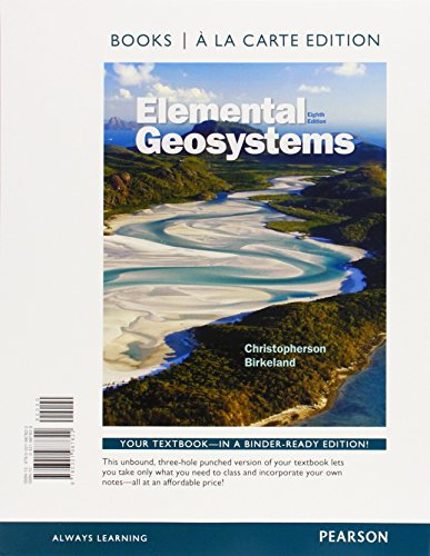 9780321992796: Elemental Geosystems, Books a la Carte Plus MasteringGeography with eText -- Access Card Package (8th Edition)