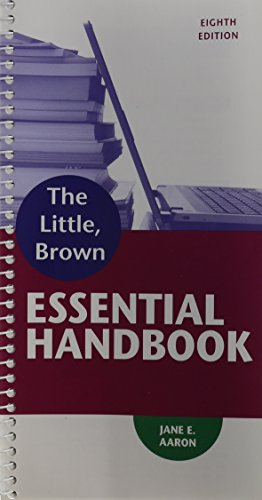Little, Brown Essential Handbook, The, with MyWritingLab -- Access Card Package (8th Edition) (...