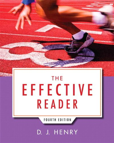 9780321993571: Effective Reader, The Plus NEW MyReadingLab with eText -- Access Card Package (4th Edition)