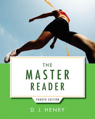 9780321993595: Master Reader, The with NEW MyReadingLab with eText -- Access Card Package (4th Edition)