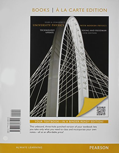 University Physics with Modern Physics Technology Update,: Hugh D. Young;