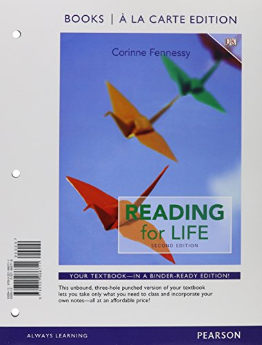 Reading for Life, Books a la Carte Edition Plus NEW MyReadingLab with etext - Access Card Package (...