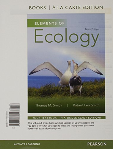9780321994912: Elements of Ecology, Books a la Carte Edition (9th Edition)