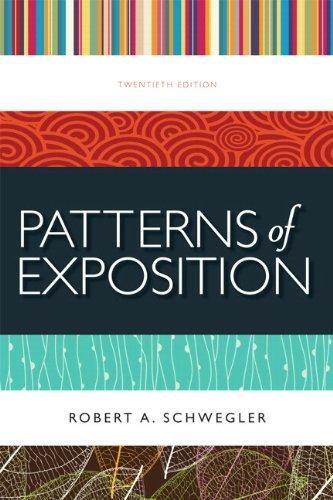9780321995872: Patterns of Exposition Plus MyWritingLab -- Access Card Package (20th Edition)