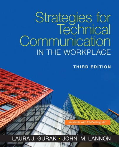 9780321995896: Strategies for Technical Communication in the Workplace