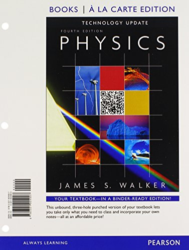 Physics Technology Update, Books a la Carte Edition & Modified MasteringPhysics with Pearson ...