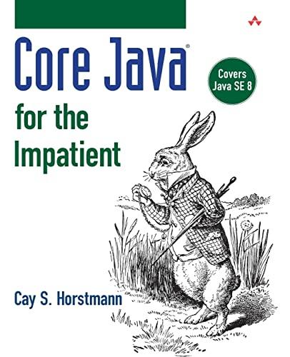 9780321996329: Core Java for the Impatient